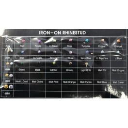 2MM BLACK RHINESTUDS  (1000Gross)