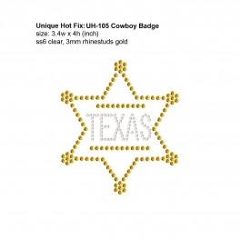 UH-105 Cowboy Badge