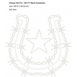 UH-117 Barb Horseshoe