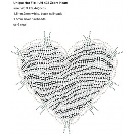 UH-402 Zebra Heart