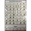3MM MATT.SILVER ANTIQUE STUDS(1000 Pieces)  (1Gross)